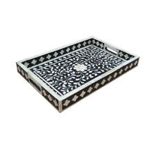 JUST ARRIVED!!! Bone Inlay Serving Tray (MEDIUM). SOUTH YARRA MELB. PICK UP