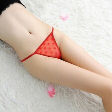 Women Lace Mesh Sheer Panties Underwear Lingerie Briefs Thongs and gift added