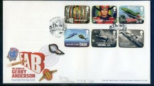 Great Britain 2011 Gerry Anderson set on pictorial fdc (2020/11/03#08)