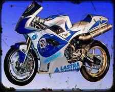 Aprilia Rsv1000R 99 1 A4 Metal Sign Motorbike Vintage Aged