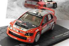 MITSUBISHI LANCER WRC #10 PANIZZI RALLYE MONTE CARLO 2005 IXO ALTAYA 1/43 RALLY