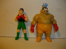 Vintage C.1989 Nintendo Lil Mac & King Hippo Figures by Applause