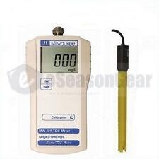 Milwaukee MW401 TDS Portable Meter/Tester/SM401, 0 - 1990 ppm, ATC