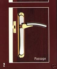 Passage   Lever Handle  set   Chrome/Gold