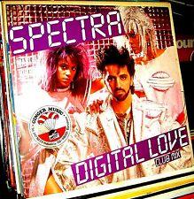 "12"" - SPECTRA - DIGITAL LOVE (DANCE) NUEVO - NEW, STOCK STORE"