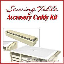 BonEful New Sew*ing Craft Room Organizer Table Scissors Shears Quilt Storage Kit