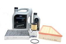 Original ford inspektionskit Filterset S-Max Galaxy Formula F 5w30 aceite del motor
