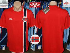 Vintage Norway Norge Uefa Umbro 2012/2013 Home Shirt Jersey Trikot Camiseta New