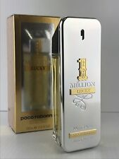 ONE MILLION LUCKY By PACO RABANNE MEN COLOGNE SPRAY 3.4 OZ SEALED