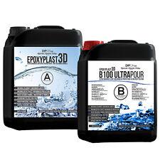 9,0 KG Epoxidharz EpoxyPlast 3D B100 ULTRA POUR Max. UV-Schutz Resin Glasklar