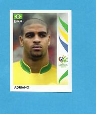 PANINI-GERMANY 2006-Figurina n.394- ADRIANO - BRASILE -NEW BLACK