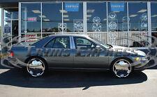 1992-1997 Cadillac SeVille 4Pc Chrome Pillar Post Stainless Steel