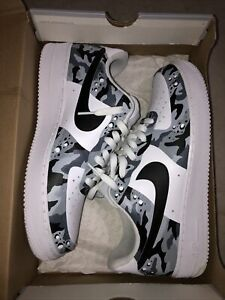 Air Force 1 White Camouflage Custom