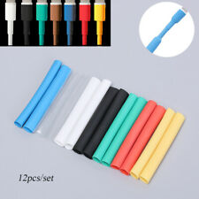 12x Protector Tube Saver Wire Cover for iPhone Lightning Charger USB Cable Cord