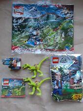 LEGO SET 30320 GALLIMIMUS TRAP+ INS 2 DINOSAURS NEW OWEN GRADY LOOKOUT POST MITB