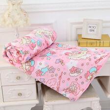Newly Sanrio Cinnamoroll Cute Dog Soft Flannel Blanket Bed Sheet Room Decor Gift
