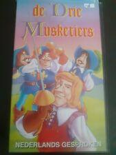 VHS videotape - De Drie Musketiers / The Tree Musketiers - nr. 46.