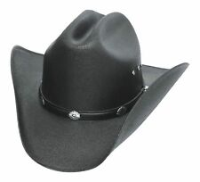 cede349b905be Western Express Classic Cattleman Straw Cowboy Hat With Silver Conchos