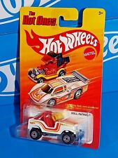 Hot Wheels 2012 The Hot Ones Series Roll Patrol White Jeep w/ CTs