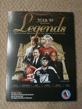 2018 Hockey Hall of Fame Program Martin Brodeur Martin St. Louis Hefford O'Ree