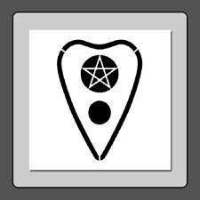 6 X 6 Ouija Board Planchette Stencil Pentacle Star/Pentagram/Supernatur al/Spirit
