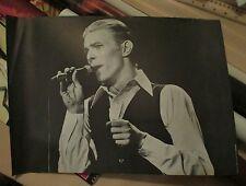 """David Bowie PHOTO PICTURE POSTER  concert White Duke 11¾"""" x16½"""" original vintage"""