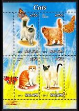 Cats Malawian Stamps (1964-Now)