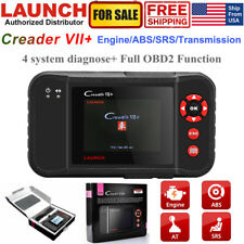 Car Check Engine OBD2 Scanner Transmission ABS SRS Code Reader Diagnostic Tool