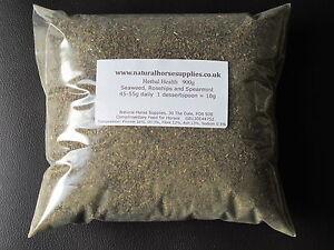 Herbal Health 900g  seaweed rosehips mint vitamins minerals hooves horses equine