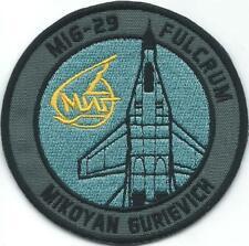 PATCH SLOVAK AIR FORCE  1. BOJOVÁ LETKA  MIG-29 FULCRUM