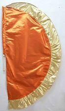 Orange/Gold  Angel's Wing Flag with Pole - Christian Worship Dance