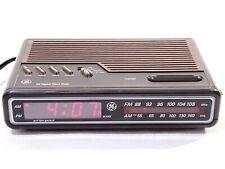 General Electric Vintage Ge 7-4612A Ge Am/Fm Digital Alarm Clock Radio Tested