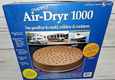 New Vintage Happy's Air Dryer 1000 Dehumidifier Boat Rv Cabin Mold Mildew Moistu