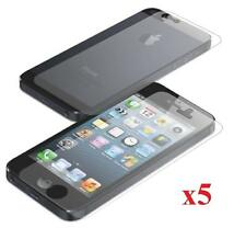 5x Matte Anti-Glare Front LCD Screen Protector Guard Film For iPhone 5 5S 5C SE