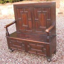 Original Edwardian Victorian Benches & Stools (1837-1901)