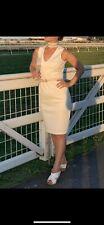 Calvin Klein White Dress Size S