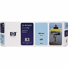 Genuine HP 83 Light Cyan Inkjet Cartridge C4944A OUT OF BOX 2009