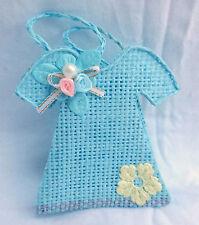 Blue Basket Dress Bag- Gift Box / Wedding / Party Favour