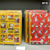 BTS BT21 Official Authentic Goods Spiral Ring Notebook BITE Ver By Kumhong Fancy