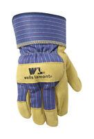 Wells Lamont  Palomino  Men's  Medium  Leather  Palm  Gloves