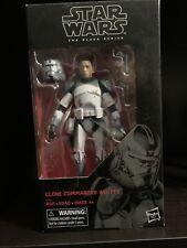 Star Wars black series commander wolffe