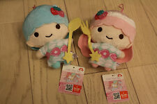 Sanrio little twin stars  plush doll strawberry  sweet decoration set