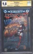 Harley Quinn #1 Rebirth Mile High Comics - CGC 9.8 SS - 3X Signed