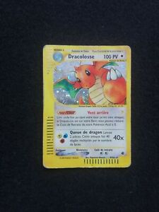 Carte Pokemon DRACOLOSSE 9/165 HOLO Expédition Wizard FR