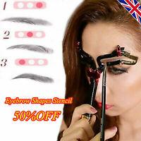 Adjustable Eyebrow Shapes Stencil - ORIGINAL UK [50%OFF]