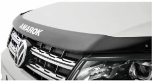 Volkswagen Amarok Bonnet Protector Matte Black Genuine VW brand new