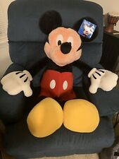 New listing Disney Store Mickey Mouse Giant Plush Toy Stuffed Animal