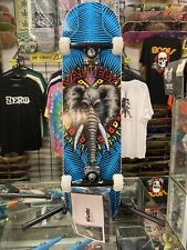 Powell Peralta pro deck Vallelly Elephant Complete Skateboard 8.0 blue