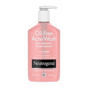 Neutrogena Pink Grapefruit Pore Cleansing Acne Wash, 9.1 Fl. Oz.