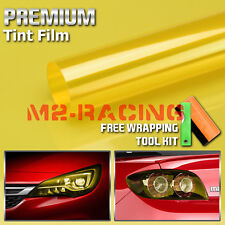*13 Colors Premium Glossy Headlight Taillight Fog Light Vinyl Sticker Tint Film